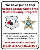 Orange County Crime Free Multi-Housing Program